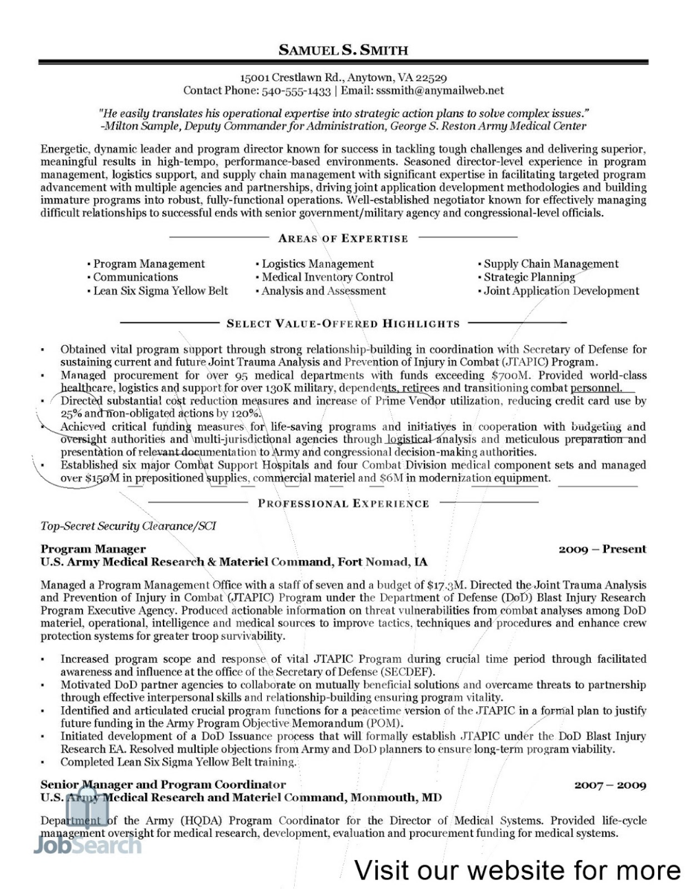 Medical Transcription Sample Resume Format UK in 2020