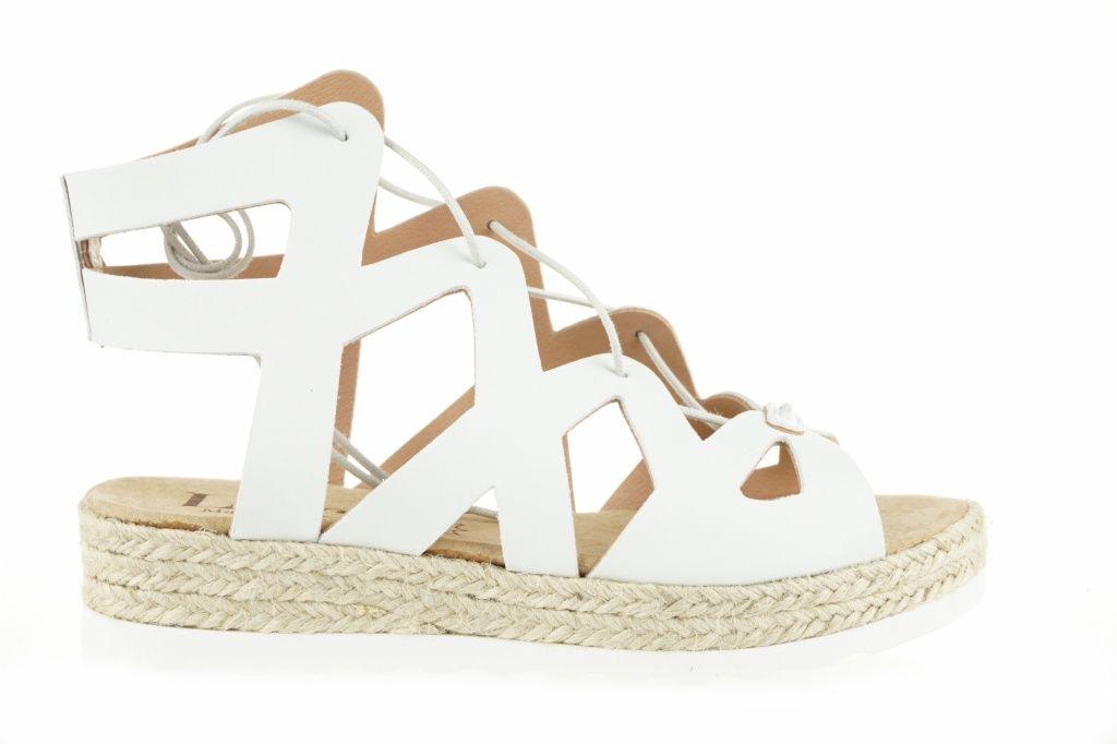 Lince Shoes SS16 #sandalia #romana #blanco