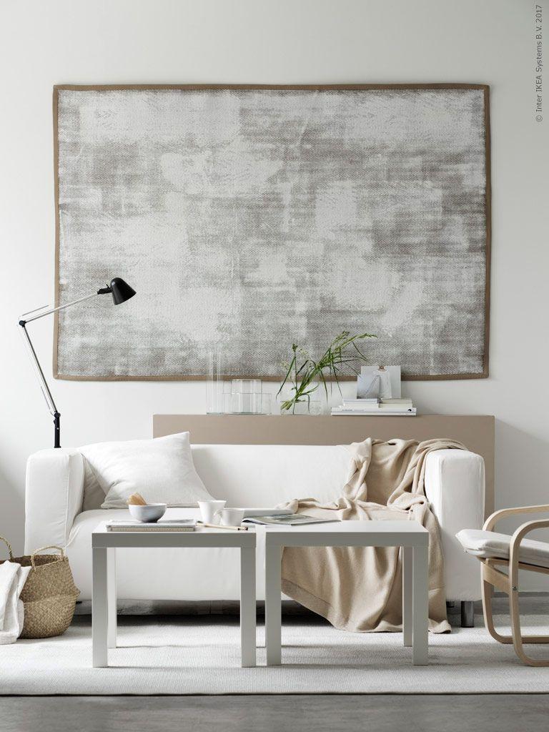 Mesa Auxiliar Lack Alto Brillo Blanco I 2019 Salones Ikea