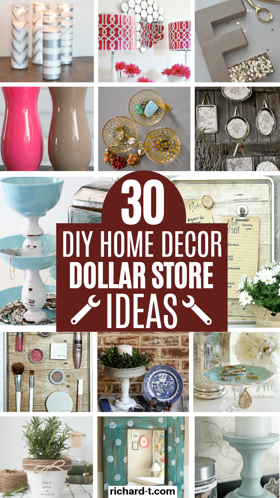 30 DIY Home Decor Dollar Store Ideas You Wish You Knew