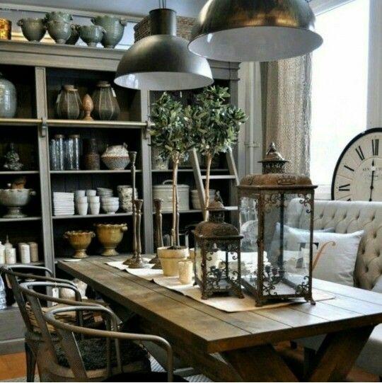 Salle à mangé style rustique DINING ROOMS Pinterest Dining