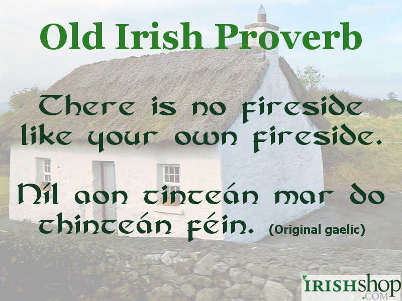 Irish Proverbs and Quotes at Irish