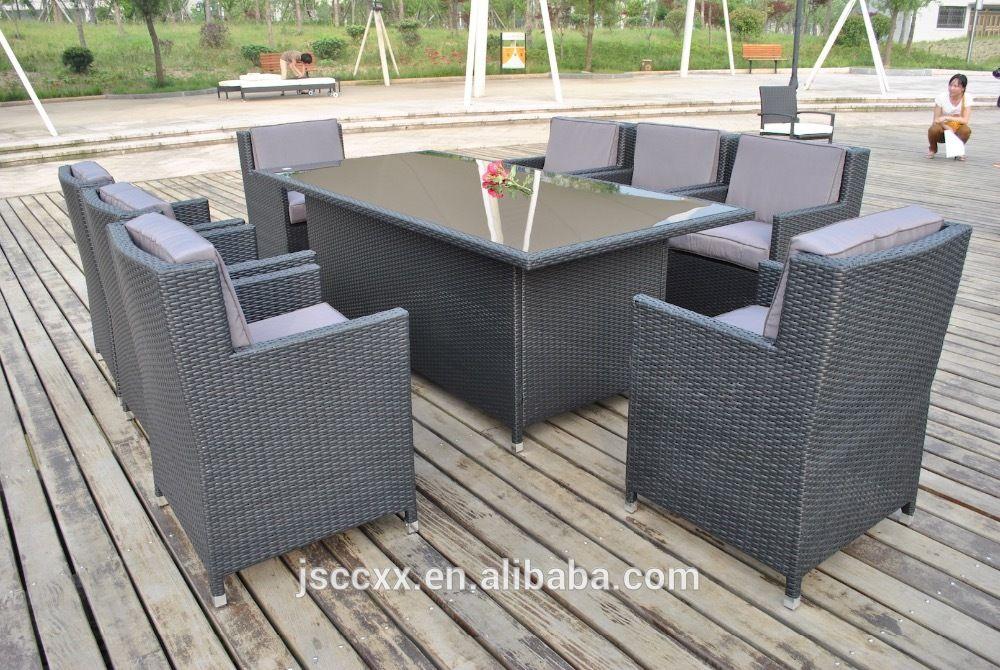 2016 de la rota de mimbre al aire libre muebles de jardín silla y ...