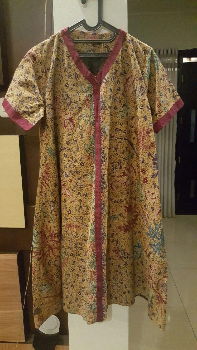 Tunik batik tulis semarangan
