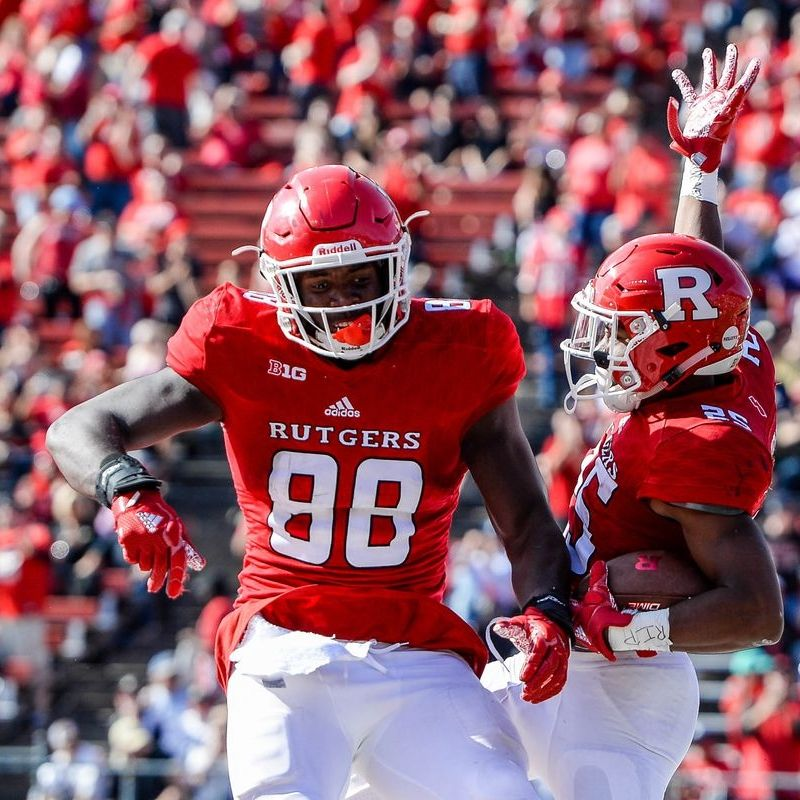 Rutgers Tight End Drills Playmaker Network Big Ten Football Rutgers Football Football