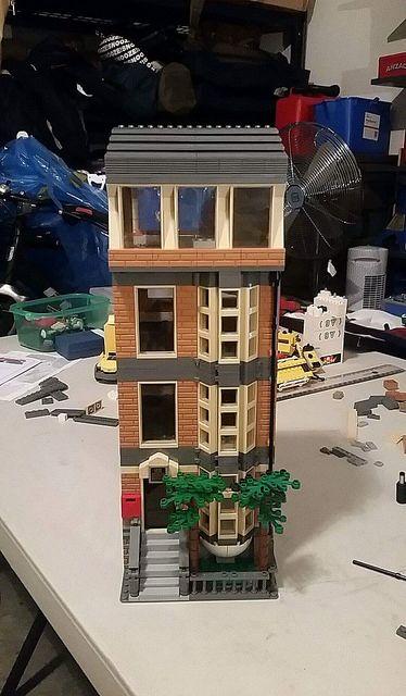 Lego Stairs Brown 10197 House Bridge