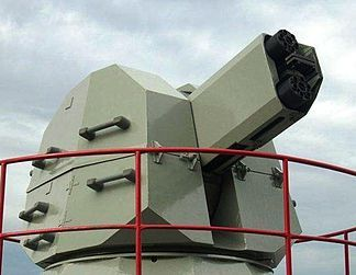 """CIWS The AK-630 is a Soviet and Russian fully automatic naval close-in weapon system based on a six-barreled 30 mm rotary cannon. In """"630"""", """"6"""" means 6 barrels and """"30"""" means 30 mm. It is mounted in an enclosed automatic turret and directed by radar and television detection and tracking. ML: Seems nice for small vessels like corvetes (due to lack of long range defense missiles)."""