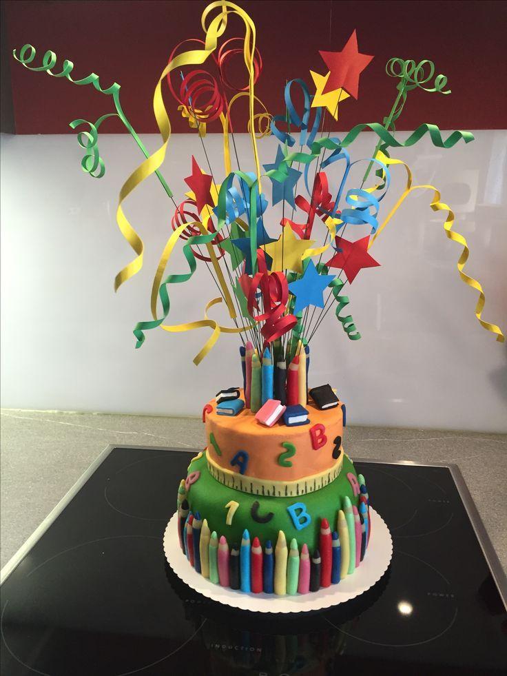 Torte Zur Einschulung 17 09 16 Torte Einschulung Kuchen Einschulung Torte Schulanfang