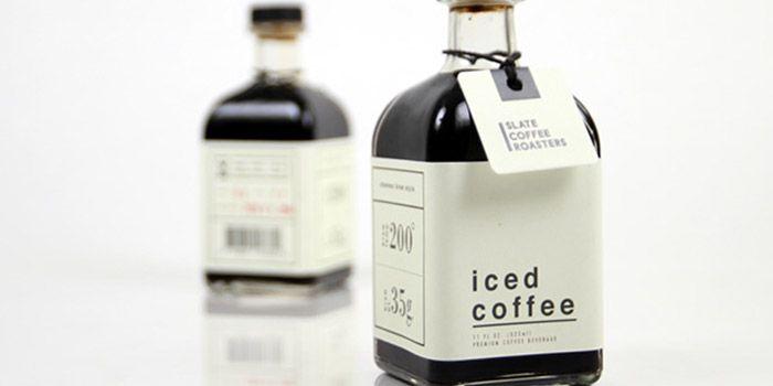 Slate Coffee Roasters Iced Coffee Daily Package Design Iced Coffee Coffee Packaging Slate Coffee