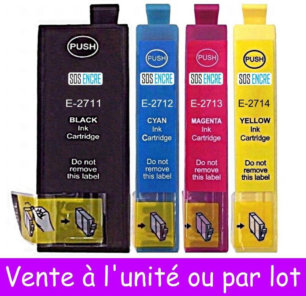 Cartouches D 039 Encre Compatibles T27 Xl Serie Reveil Non Oem Epson