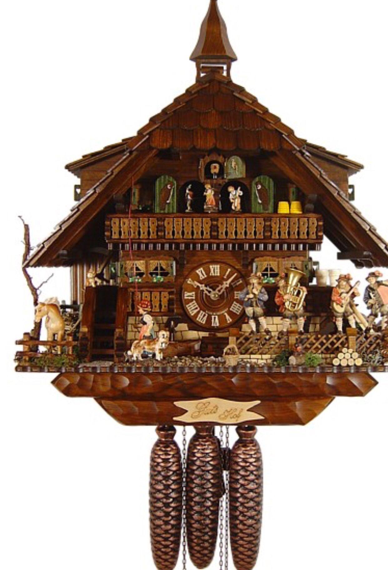 Cuckoo Relojes De Pared Relojes De Pared Antiguos Reloj Cucu