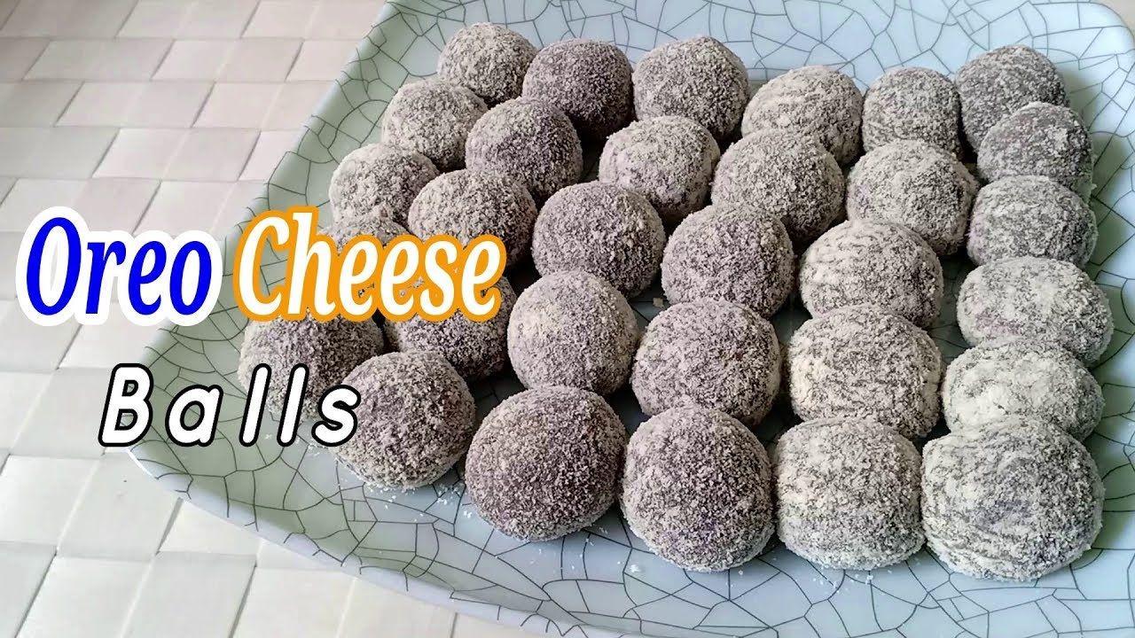Pin On Oreo Cheese Balls Recipe How To Make Oreo Cheese Pastillas Balls