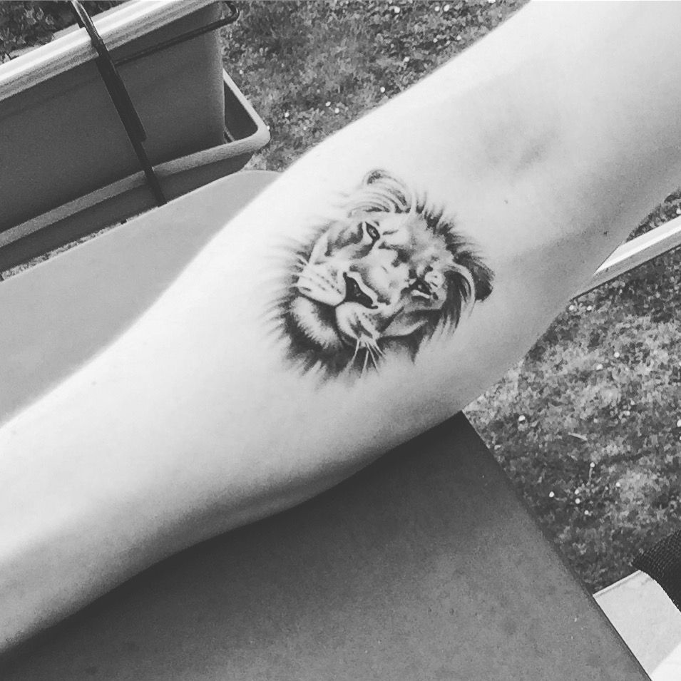 Tattoo Lion Man Forearm Lion Tattoo Forearm Tattoos Small Lion Tattoo