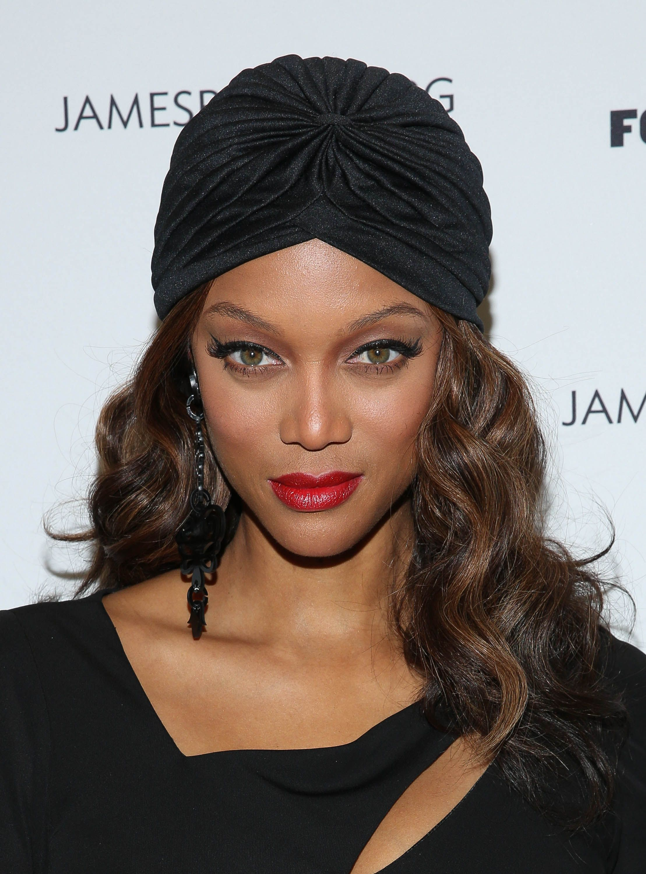 Tyra Banks The supermodel and TV producer holds an