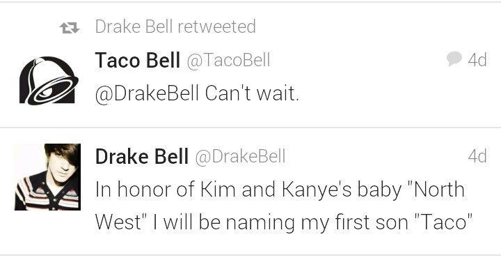 Haha yep taco bell im excited too.