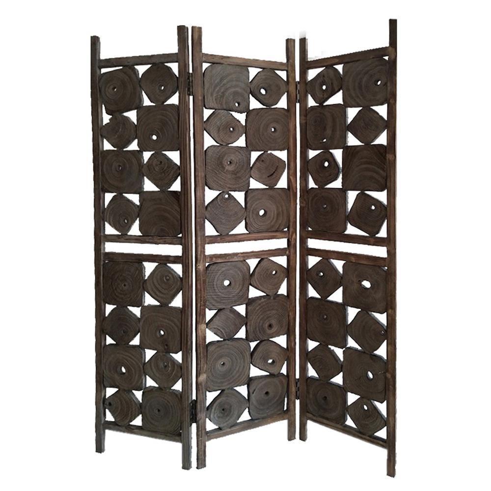 Glenbrook ft brown panel room divider roomdividerwoonkamer