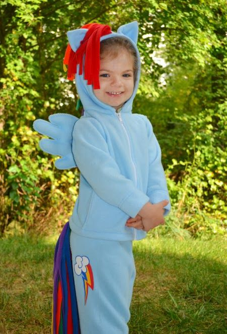 Kids Diy My Little Pony Costume Really Awesome Costumes
