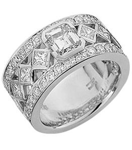 White gold dress rings australia
