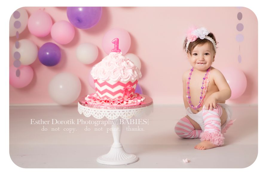 One Year Old Cake Smash / Dallas Baby Photographer / Birthday Session ...