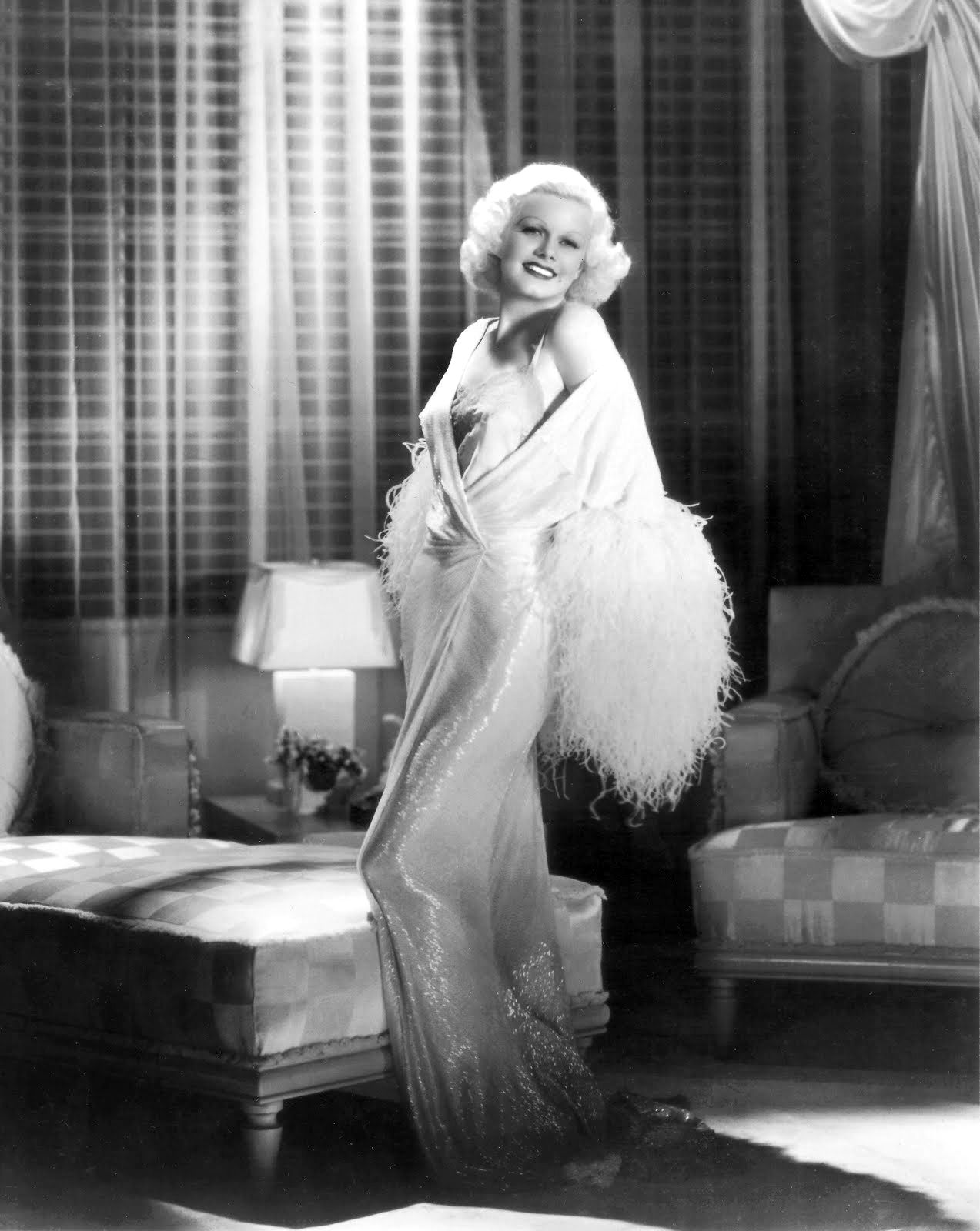 Image result for jean harlow dinner at eight