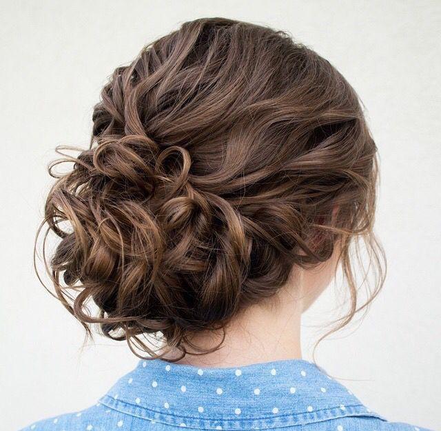 Cute bun hairstyle