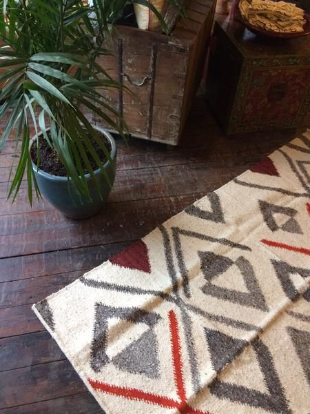 Handmade Fair Trade Volcan De Aqua Guatemalan Wool Rug By Meso And Stylish
