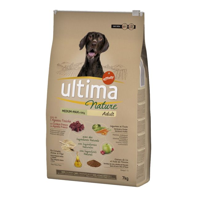 Pienso Para Perros Adultos Ultima Nature Medium Maxi Cordero 7 Kg