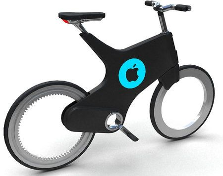 Patent For The Apple Smart Bike Approved Bike Bike Design Bicycle