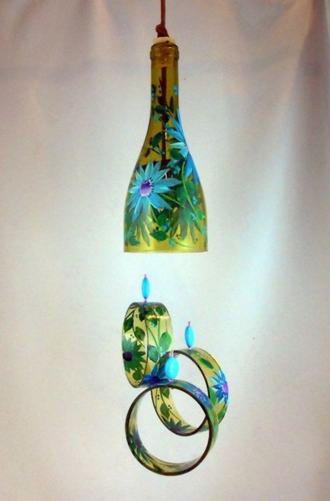 15 Stunning Diy Recycled Glass Bottle Projects Glass Bottle