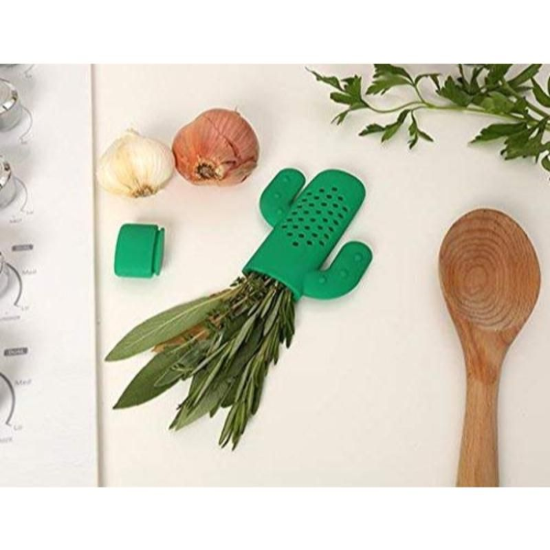 Cactus Herb Infuser for Soups  Stews  and Tea - 2 Pack