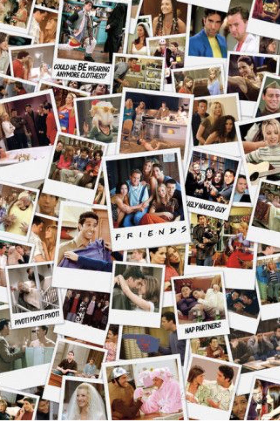 This Is A Collection Of Friends The Tv Show Memories All In