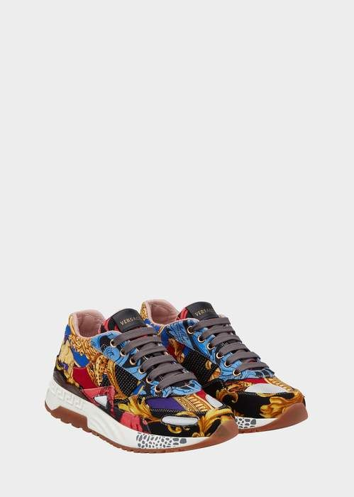 In 2018 Barocco Sneakers Achilles Products Print Versace wPgq6Xn