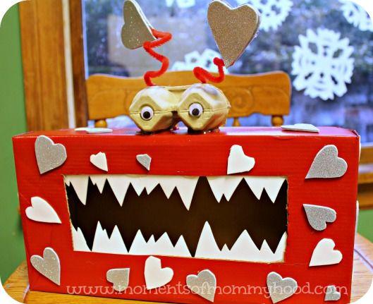 Schön Monster Valentine Box