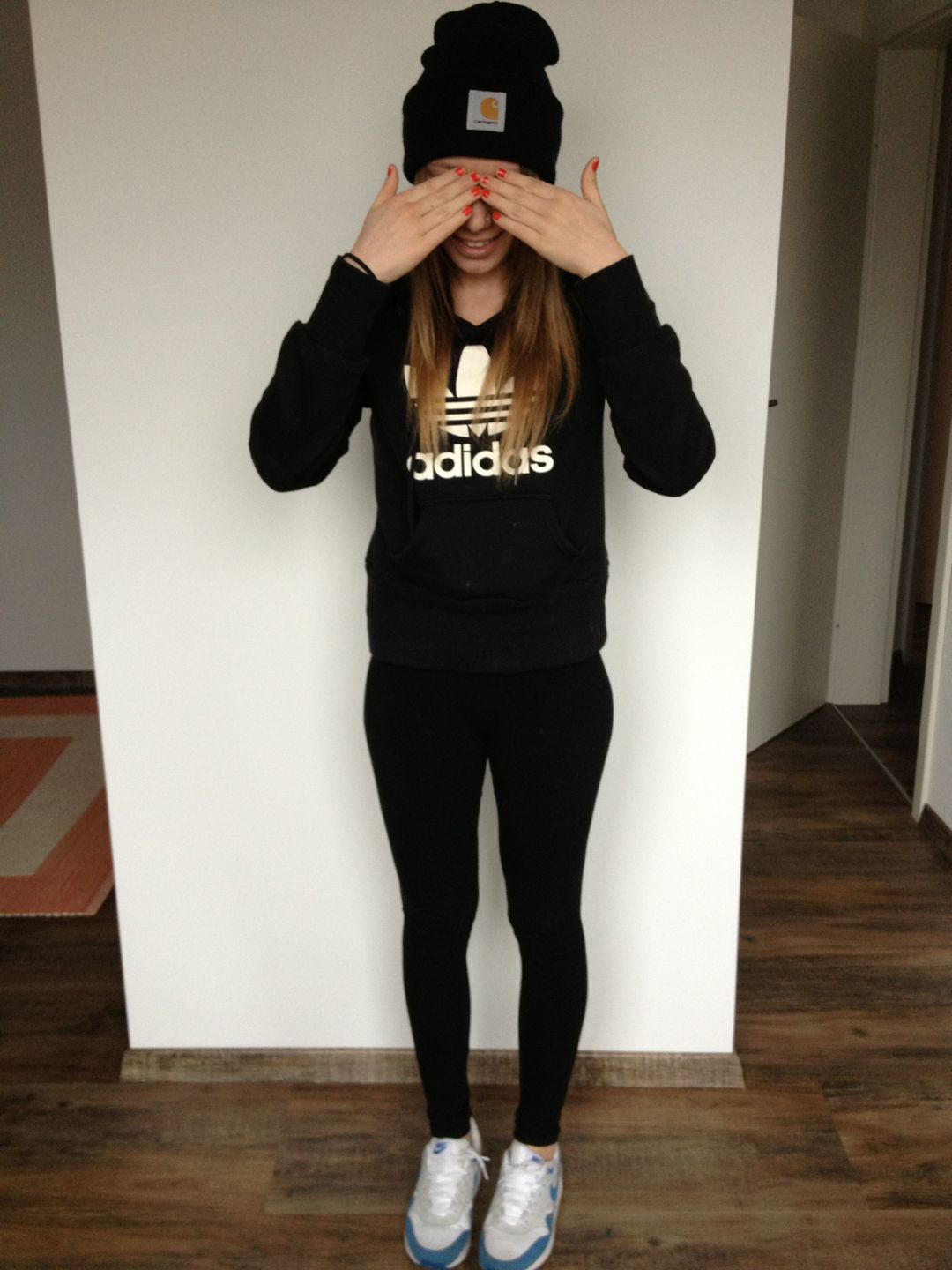 adidas, black, and girl image | Adidas outfit, Clothes, Fashion