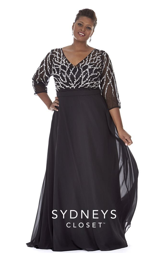 Plus Size 2015 Plus Size Prom Dress With Sleeves Formal Dresses