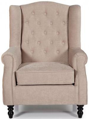 Serene Perth Mink Fabric Chair Chair Fabric Armchairs