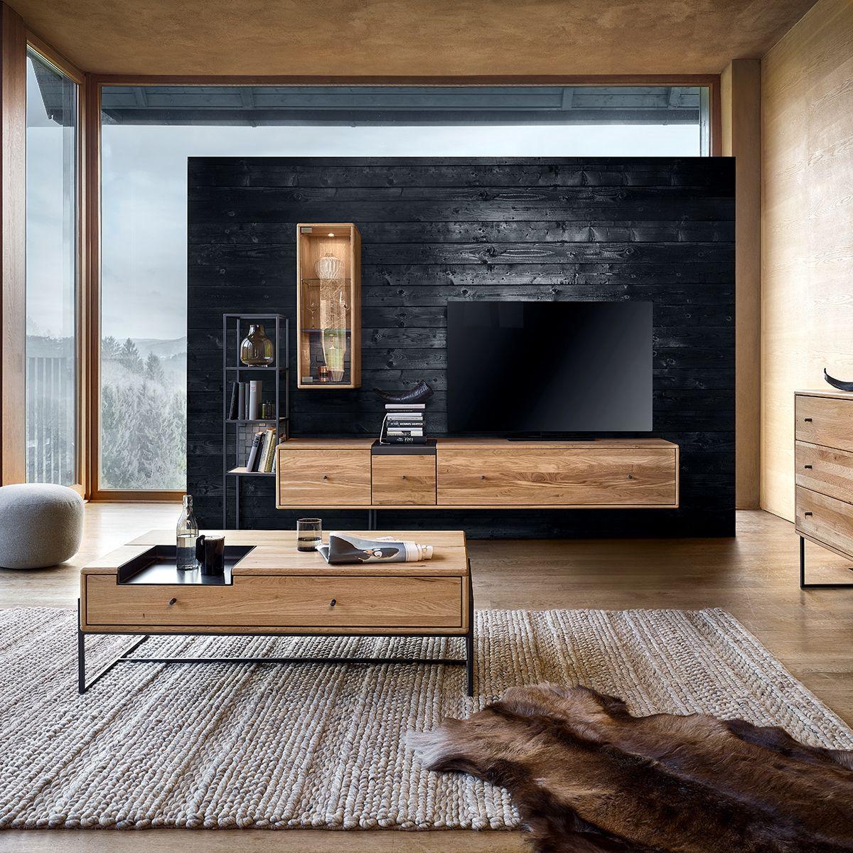 Kontrastreicher Style Furs Wohnzimmer Ein Wohn Trend 2019