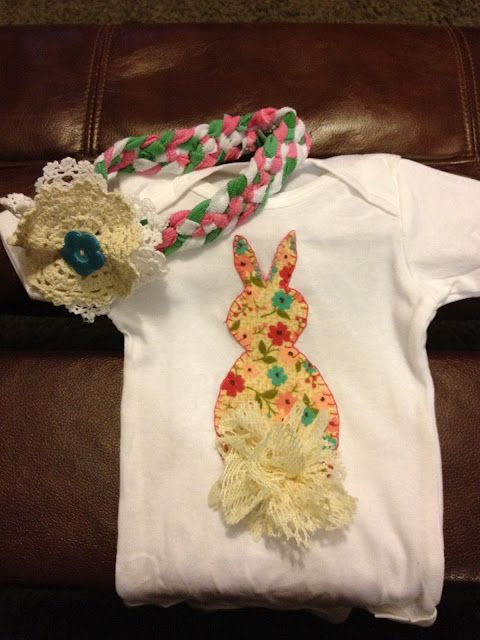 Bunny Shirt Applique  @trendytreehouse