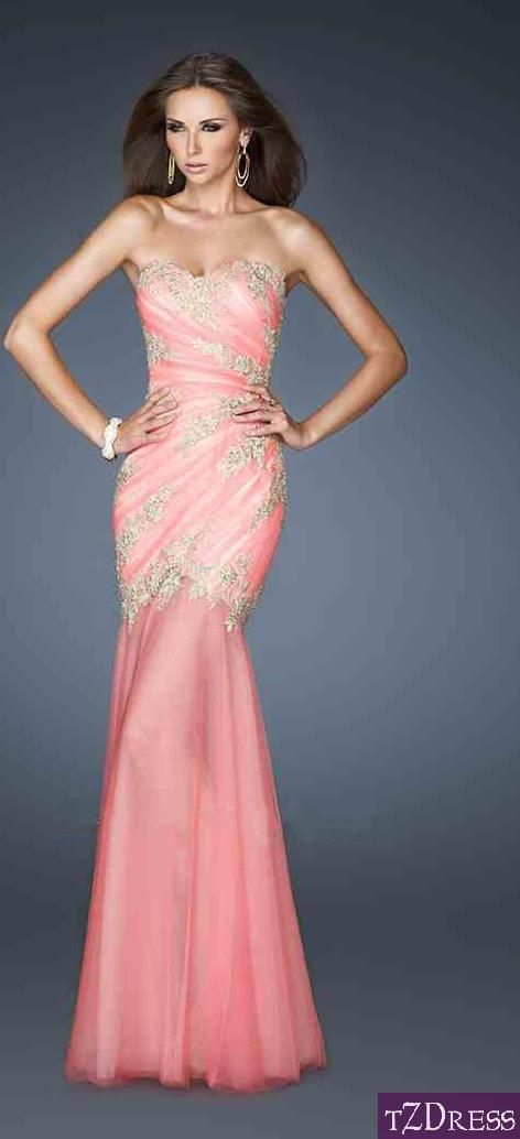 prom dress prom dresses | Dresses | Pinterest | Elegancia, Verde y ...