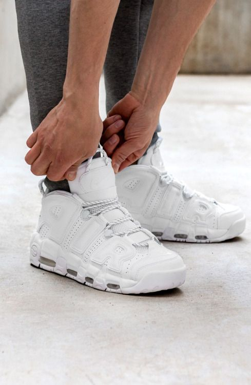 premium selection bde93 c67ad Nike Air More Uptempo  96  Triple White