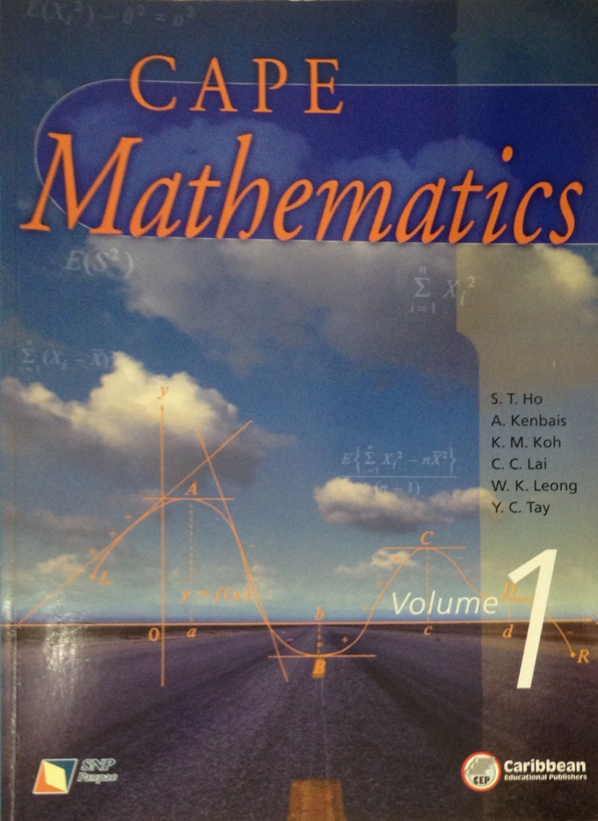 A Singapore-published grade 11 math textbook I edited for the