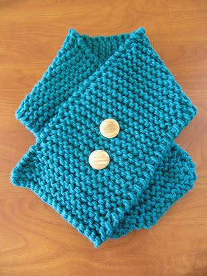 Hipknitized : Free Pattern: Easy Peasy Toddler Scarf ...