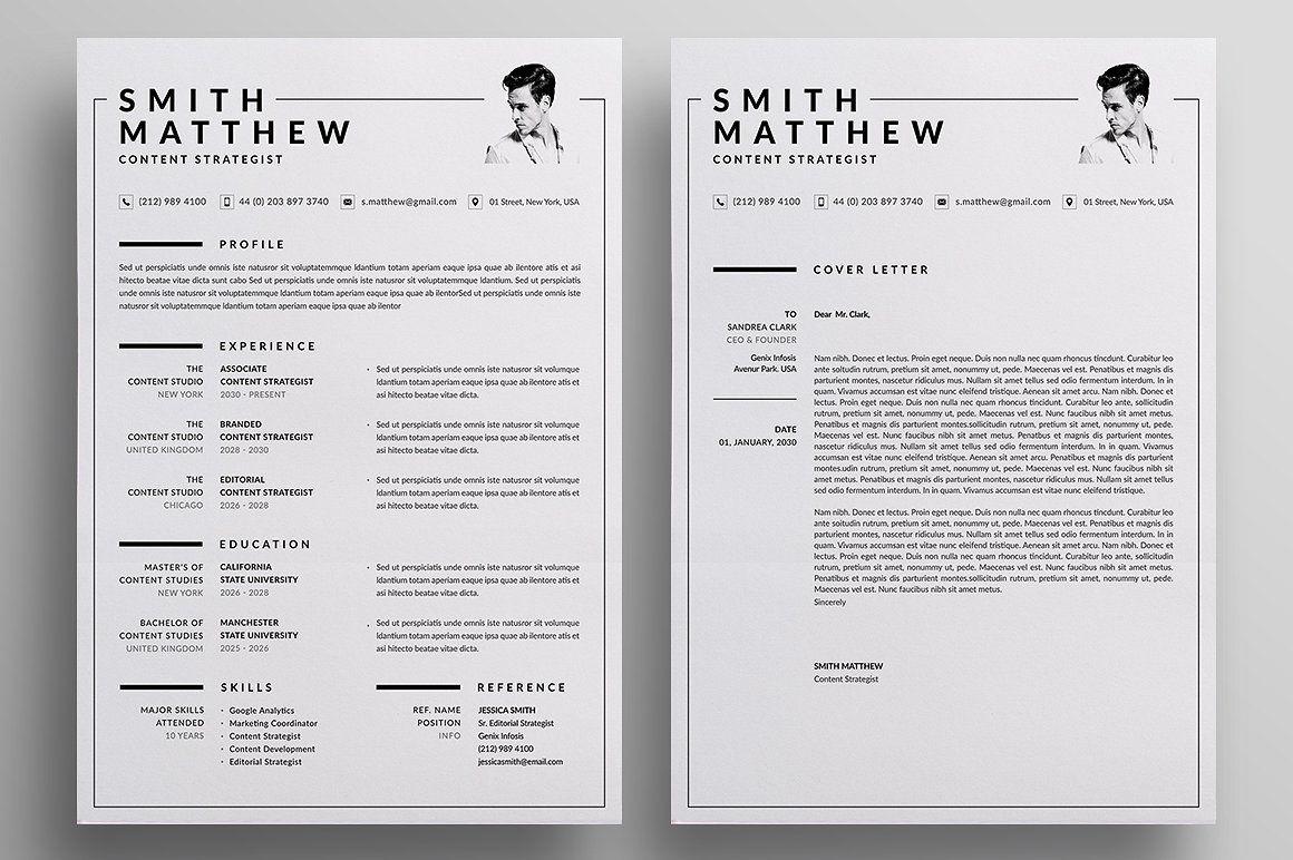 Resume/CV 디자인