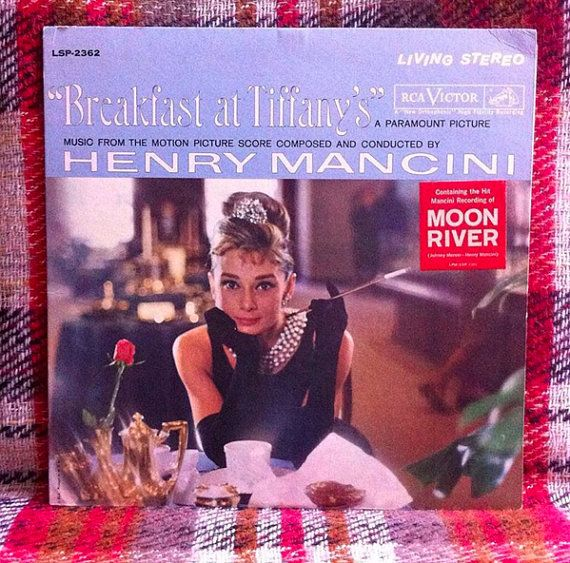 Breakfast At Tiffany S Vinyl Lp Record Soundtrack By Cheztoulouse