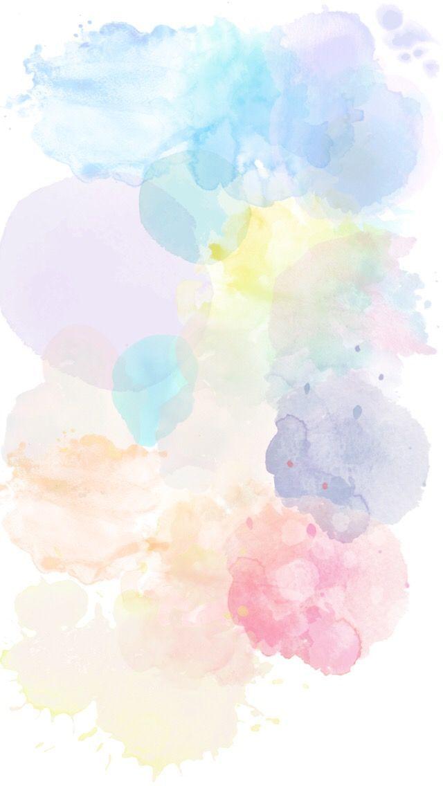 Fon Meri Kej Travel Design Iphone Wallpapers Wallpaper Backgrounds Watercolor Background Backr Watercolor Wallpaper Pastel Background Watercolor Background