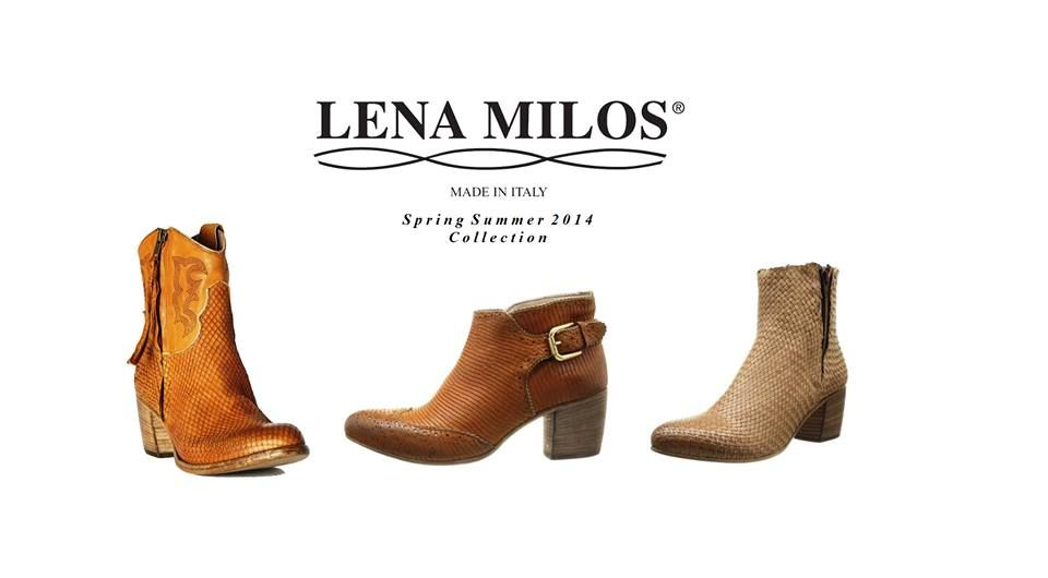 LENA MILOS #preview of our #springsummer #2014 #collection #vintage #boots #chic #luxury #fashion #girls #madeinitaly #footwear #new in #boutique