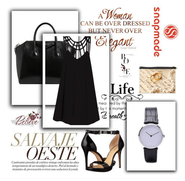 """""""6#snapmade"""" by mujo-ziba ❤ liked on Polyvore featuring MICHAEL Michael Kors, Givenchy and RVCA"""