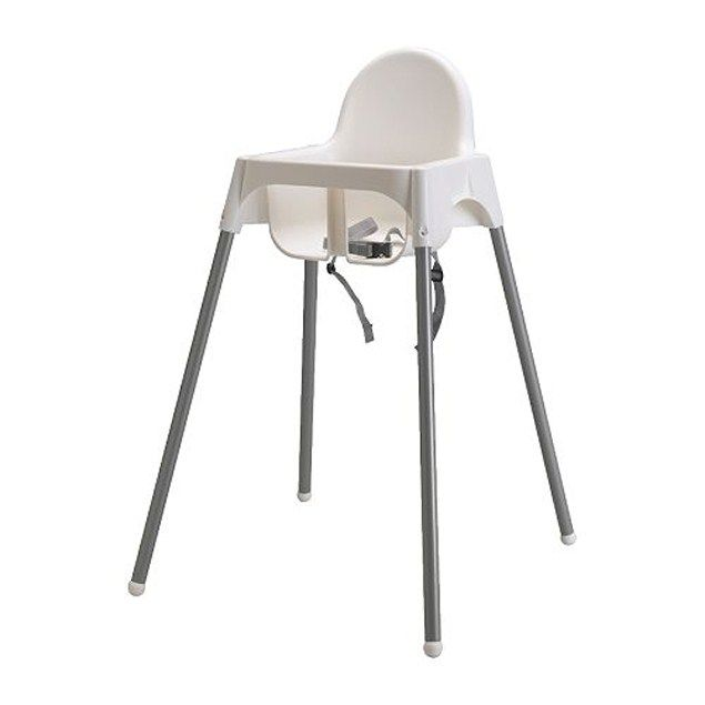 Alert over Ikea high chair where belt