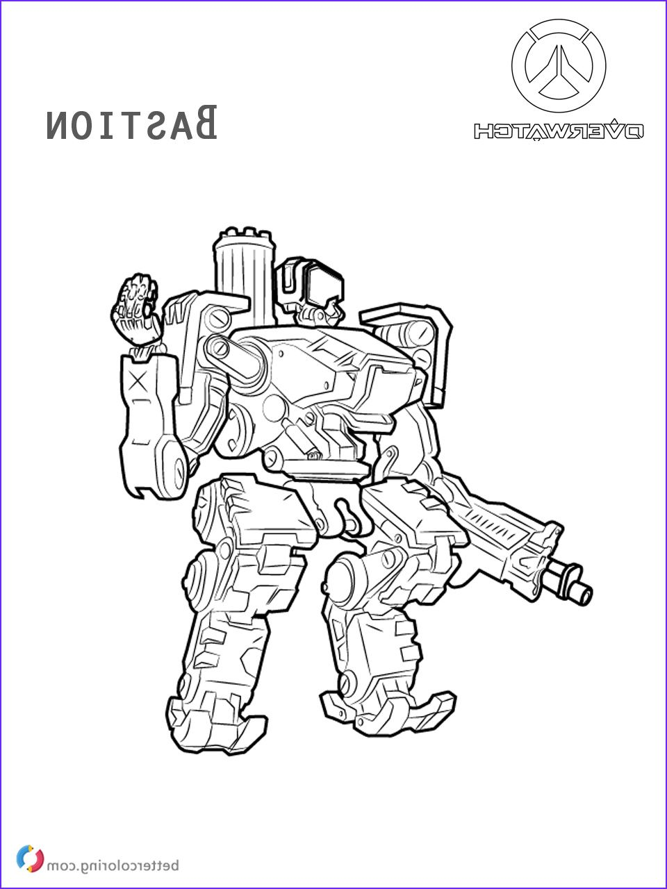 15 Unique Overwatch Coloring Pages Photos Coloring Pages Pokemon Coloring Pages Free Halloween Coloring Pages