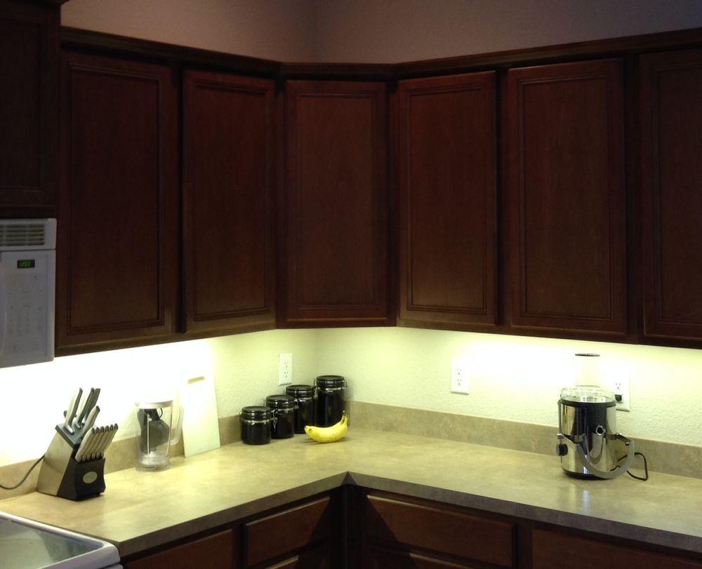 Kitchen Under Cabinet Professional Lighting Kit Warm White Led Strip Tape Light Kitchen Under Cabinet Lighting Light Kitchen Cabinets Cabinet Lighting